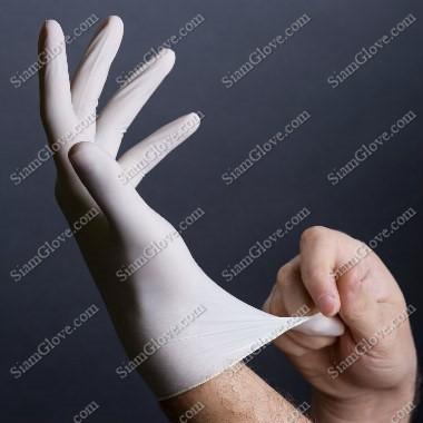 ถุงมือแพทย์ชนิดมีแป้ง-ไม่มีแป้ง